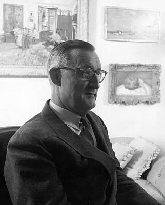 Portrait Of Paul Mellon Art Print by Horst P. Horst