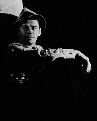 Film Industry Photograph - Portrait Of Paul Muni by Anton Bruehl