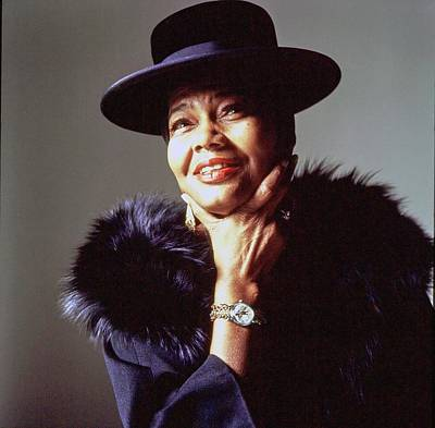 Photograph - Portrait Of Pearl Bailey by Bert Stern