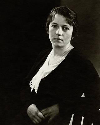 Portrait Of Pearl S. Buck Art Print