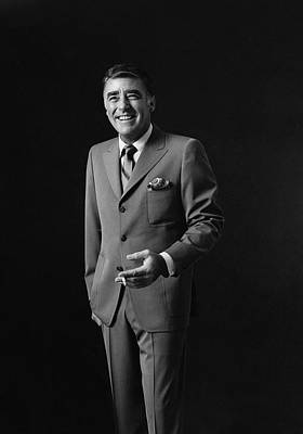 Peter Lawford Photograph - Portrait Of Peter Lawford by Leonard Nones