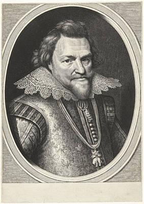Portrait Of Philip William, Prince Of Orange Art Print by Prince Of Orange And Willem Jacobsz. Delff And Michiel Jansz Van Mierevelt