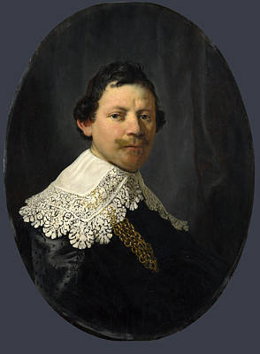 Painting - Portrait Of Philips Lucasz by Rembrandt