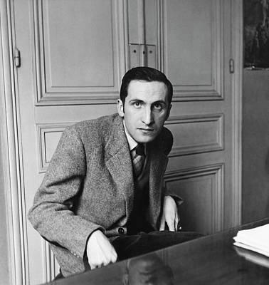 Photograph - Portrait Of Pierre Emmanuel by Horst P. Horst
