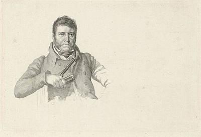 Os Painting - Portrait Of Pieter Gerardus Van Os by Hendrik Willem Caspari