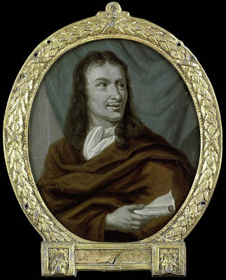 Van Halen Painting - Portrait Of Pieter Verhoek, Poet And Marble Painter by Litz Collection