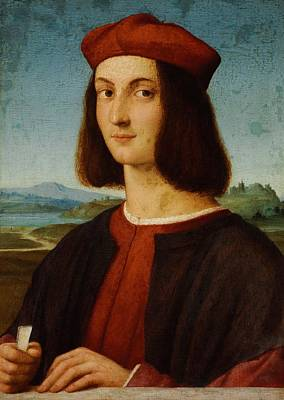 1506 Painting - Portrait Of Pietro Bembo by Raffaello Sanzio