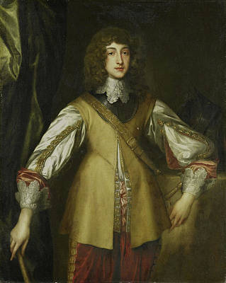 Prince Rupert Drawing - Portrait Of Prince Rupert, Count Palatine by Litz Collection
