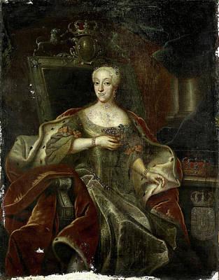Portrait Of Princess Charlotte Amalie, Daughter Art Print by Litz Collection