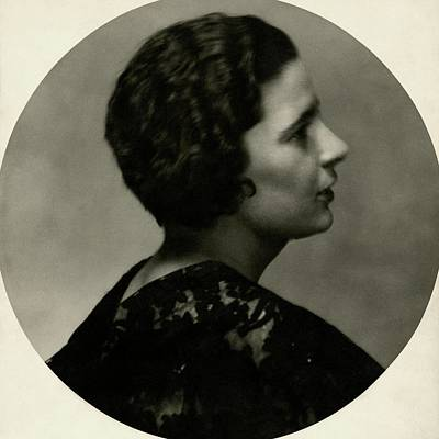 Rebecca Photograph - Portrait Of Rebecca West by Maurice Beck & Helen Macgregor