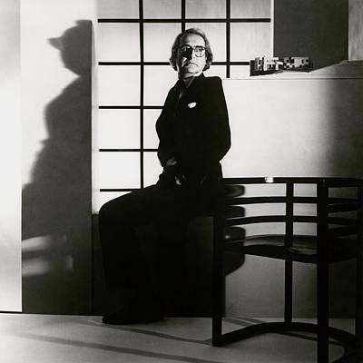 1984 Photograph - Portrait Of Richard Meier by Horst P. Horst
