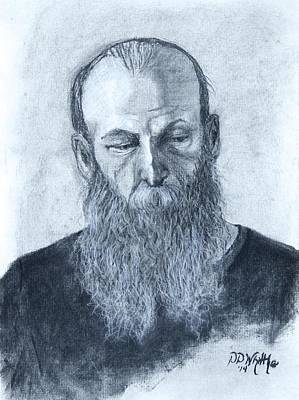 Drawing - Portrait Of Robert  by Dee Dee  Whittle