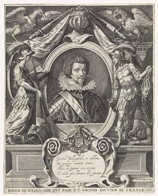 Portrait Of Roger De Saint-lary De Bellegarde Art Print