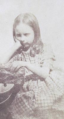 Portrait Of Rosamond Constance Fox Talbot Art Print by Artokoloro