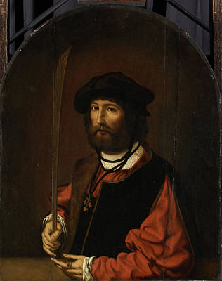 Portrait Of Ruben Parduyn, Knight Of The Holy Sepulchre Art Print