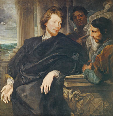 Painter Photograph - Portrait Of Rubens Oil On Canvas by Sir Anthony van Dyck