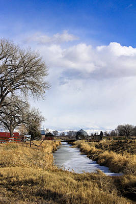 Photograph - Portrait Of Rural Colorado by Marta Alfred
