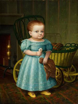 Portrait Of Sally Puffer Sanderson Art Print
