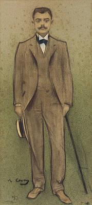 Painting - Portrait Of Salvador Vilaregut by Ramon Casas