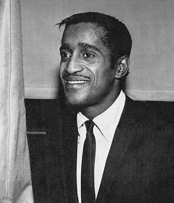 Portrait Of Sammy Davis Jr. Art Print by Underwood Archives