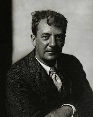 Anderson Photograph - Portrait Of Sherwood Anderson by Edward Steichen