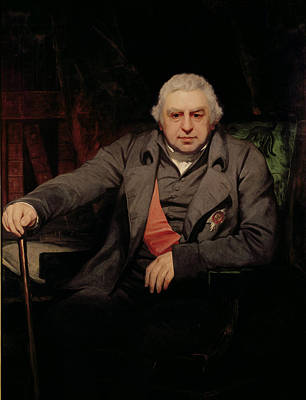 Sash Photograph - Portrait Of Sir Joseph Banks,1743-1820 1810 Oil On Canvas by Thomas Phillips