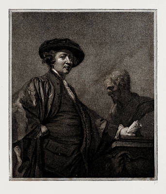 Reynolds Drawing - Portrait Of Sir Joshua Reynolds, Painted By Himself by Litz Collection