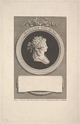 Portrait Of Son Altesse Royale Madame Art Print