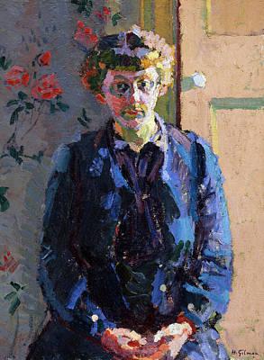 Portrait Of Sylvia Gosse, 1912 Art Print