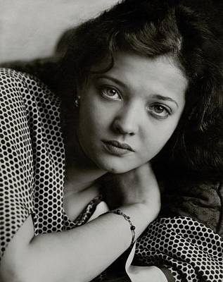 20-24 Years Photograph - Portrait Of Sylvia Sidney by Edward Steichen