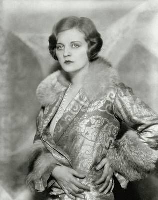 Tallulah Photograph - Portrait Of Tallulah Bankhead by Nickolas Muray