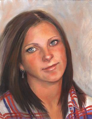 Portrait Of Taylor II Art Print by Terri  Meyer