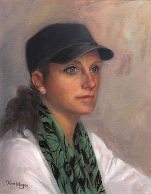 Portrait Of Taylor IIi Art Print by Terri  Meyer