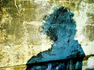 Photograph - Portrait Of The Artist As Shadow 3 by Ronda Broatch
