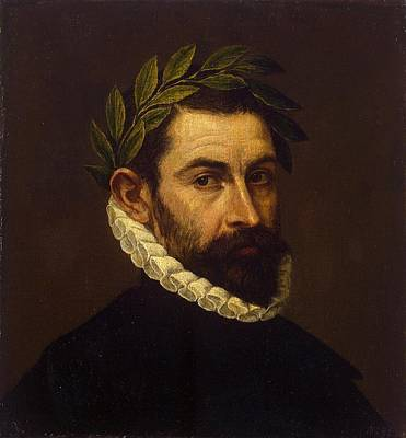 Portrait Of The Poet Alonso Ercilla Y Zuniga Art Print