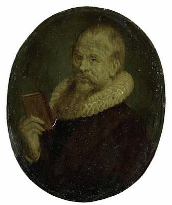 Van Halen Drawing - Portrait Of Theodorus Schrevelius, Rector Of The Latin by Litz Collection