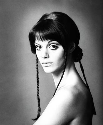 Woman Head Photograph - Portrait Of Tina Aumont by Elisabetta Catalano