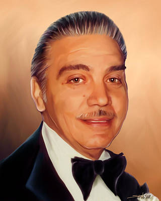 Painting - Portrait Of Tony by Michael Spano