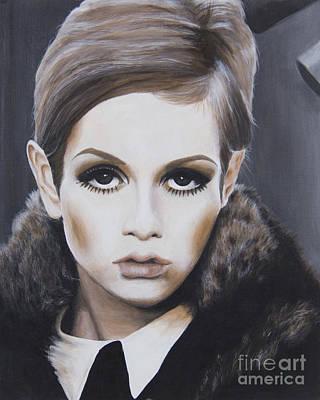 Portrait Of Twiggy Original