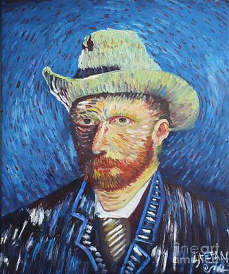 Painting - Portrait Of Van Gogh by Stefan Duncan