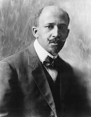1918 Photograph - Portrait Of W.e.b. Dubois by Underwood Archives