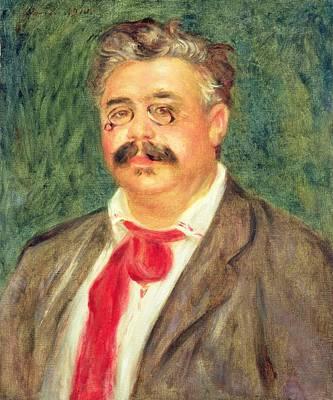 Portrait Of Wilhelm Muhlfeld, 1910 Art Print by Pierre Auguste Renoir