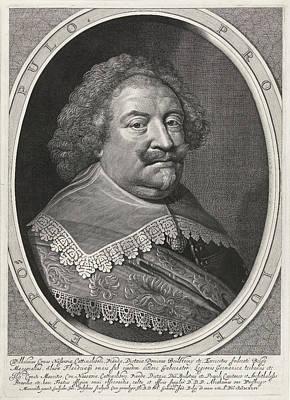 Portrait Of William, Count Of Nassau Art Print by Willem Jacobsz. Delff And Abraham Van Waesberge I