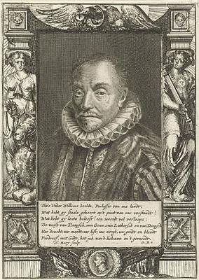 Portrait Of William I, Prince Of Orange, Hendrik Bary Art Print