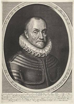 Portrait Of William I, Prince Of Orange Art Print by Willem Jacobsz. Delff