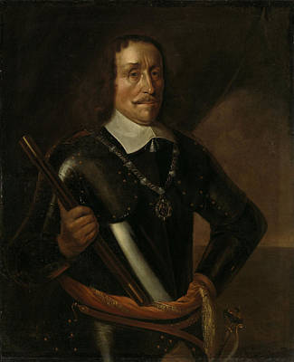 Holland Drawing - Portrait Of Witte Cornelisz De With, Vice-admiral by Litz Collection