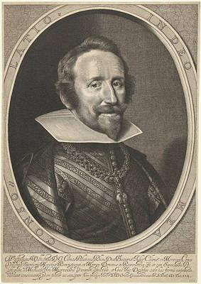Portrait Of Wolfgang Willem Van De Palts-neuburg Art Print by Willem Jacobsz. Delff
