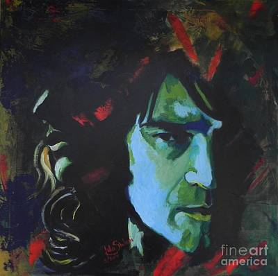 Moyers Painting - Portrait Sookie And Bill True Blood by Jolanta Shiloni