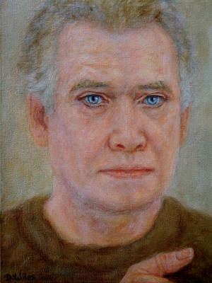 Painting - Portrait Study by David Wiles