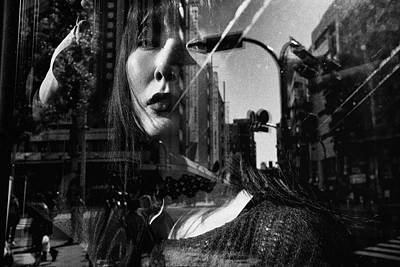 Windows Photograph - Portrait by Tatsuo Suzuki